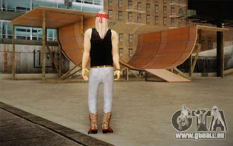 Axl Rose Skin v2 für GTA San Andreas zweiten Screenshot