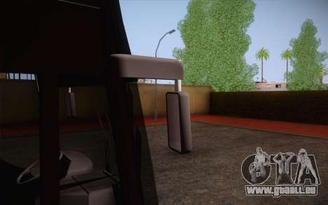 Mercedes-Benz Argentina Thailand Bus für GTA San Andreas Innenansicht
