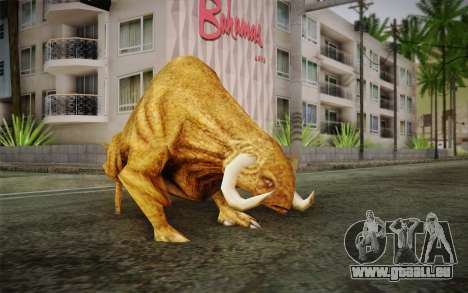Sirian Werebull für GTA San Andreas