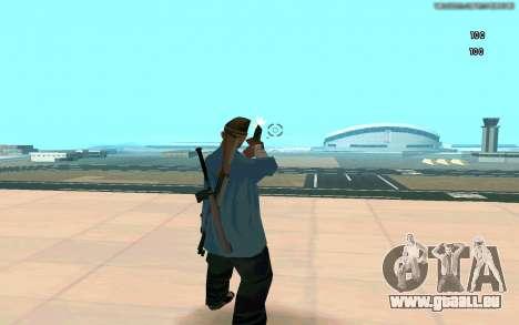 Éternelle de vue pour GTA San Andreas cinquième écran
