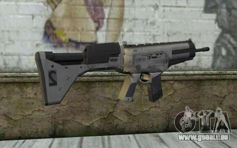 ARX-160 Fusil d'Assaut из COD Fantômes pour GTA San Andreas deuxième écran