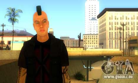 Punk (vwmycr) pour GTA San Andreas deuxième écran
