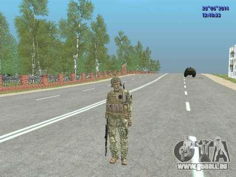 Alfa Antiterroriste A pour GTA San Andreas douzième écran