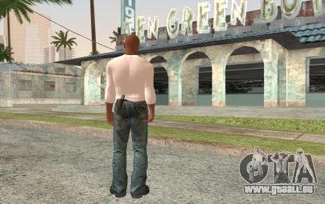Tyrese Gibson aus the fast and the furious 2 für GTA San Andreas zweiten Screenshot