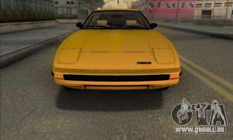 Mazda RX-7 GSL-SE 1985 IVF für GTA San Andreas Seitenansicht