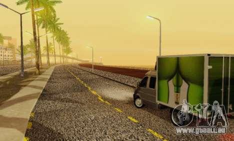Heavy Roads (Los Santos) für GTA San Andreas achten Screenshot