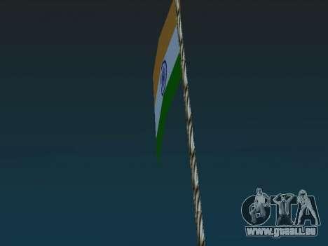 Indische fahne auf dem mount Chilliad für GTA San Andreas zweiten Screenshot
