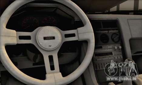 Mazda RX-7 GSL-SE 1985 IVF für GTA San Andreas zurück linke Ansicht