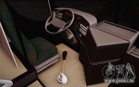 Mercedes-Benz Argentina Thailand Bus für GTA San Andreas zurück linke Ansicht