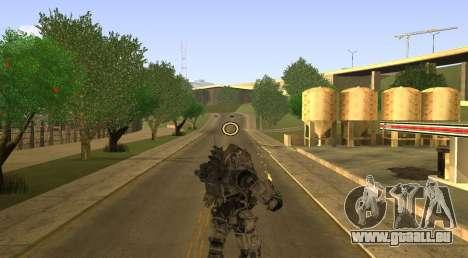 TitanFall Atlas pour GTA San Andreas cinquième écran