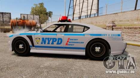 GTA V Bravado Buffalo NYPD für GTA 4 linke Ansicht