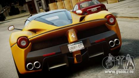 Ferrari LaFerrari v1.2 pour GTA 4 Salon