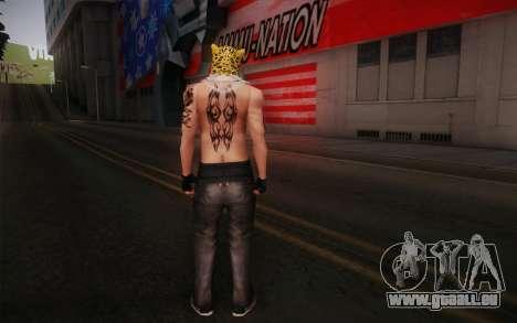 King from Tekken pour GTA San Andreas deuxième écran