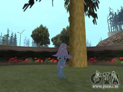 Trixie pour GTA San Andreas troisième écran