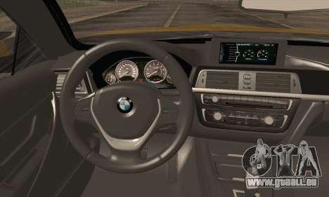 BMW M4 F80 Stanced für GTA San Andreas Rückansicht