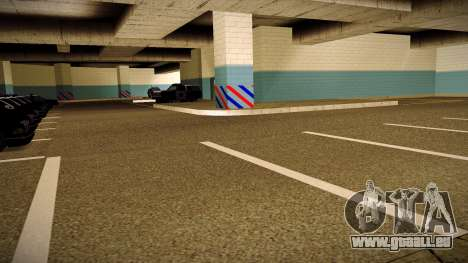 Nouveau garage LSPD pour GTA San Andreas deuxième écran