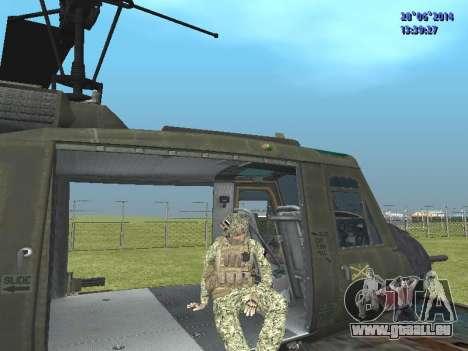 Alfa Antiterroriste A pour GTA San Andreas huitième écran