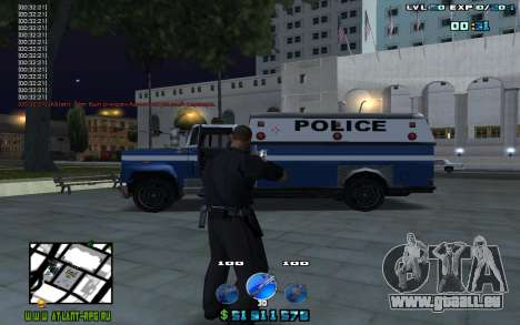 C-HUD by Mr.Riko für GTA San Andreas zweiten Screenshot