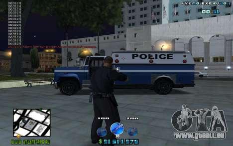 C-HUD by Mr.Riko für GTA San Andreas zweiten Screenshot
