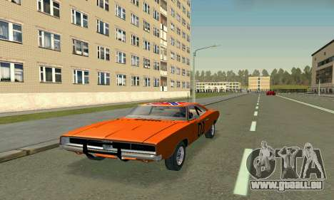 Dodge Charger General lee für GTA San Andreas