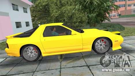 Mazda Savanna RX-7 III (FC3S) für GTA Vice City zurück linke Ansicht