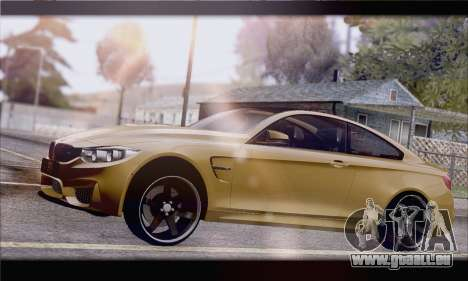 BMW M4 F80 Stanced pour GTA San Andreas