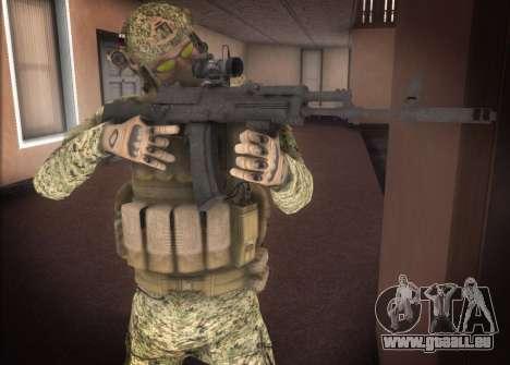 Alfa Antiterroriste A pour GTA San Andreas deuxième écran