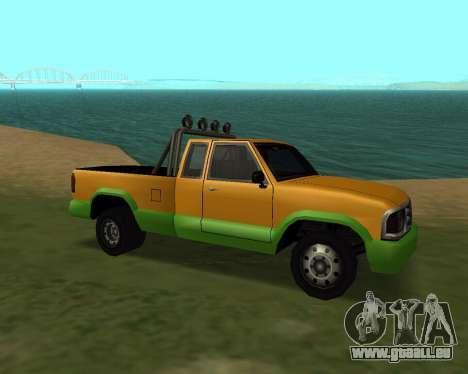 Nouveau Pick-Up pour GTA San Andreas laissé vue
