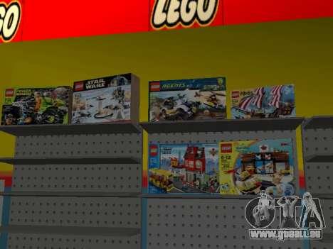 La boutique LEGO pour GTA San Andreas huitième écran