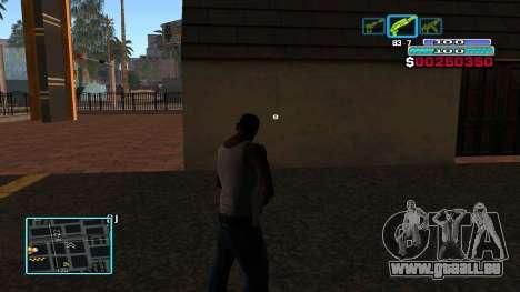 C-HUD Hast pour GTA San Andreas troisième écran