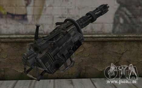Minigun из Fallout für GTA San Andreas zweiten Screenshot