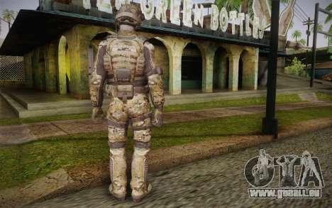 Crosby from Call of Duty: Black Ops II pour GTA San Andreas deuxième écran