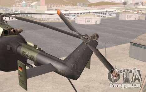 Bo-105 pour GTA San Andreas vue de droite