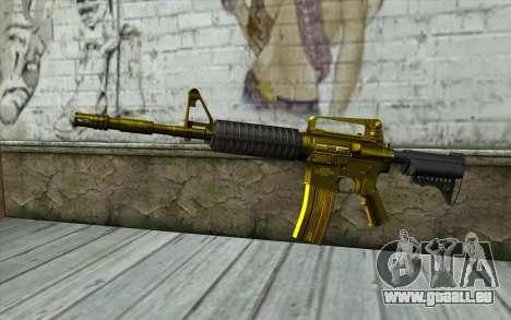 Or M4 sans vue pour GTA San Andreas