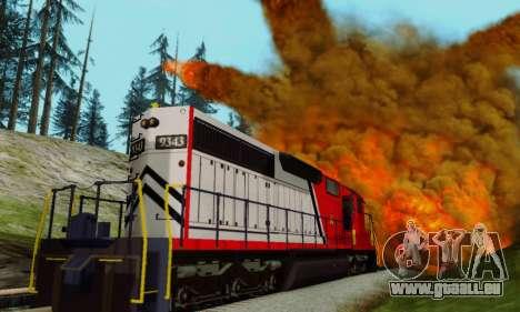 GTA V Trem pour GTA San Andreas vue arrière
