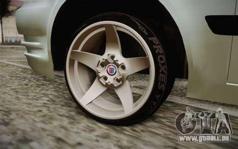 Hyundai Polis TR pour GTA San Andreas sur la vue arrière gauche