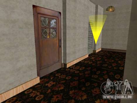 Das neue Interieur des Hauses CJ für GTA San Andreas dritten Screenshot
