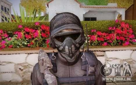 Kick из Call of Duty: Geister für GTA San Andreas dritten Screenshot