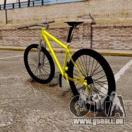 GTA V Mountain Bike pour GTA 4 Vue arrière de la gauche