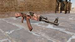 Die AK-47 Roten tiger