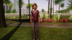Clementine из The Walking Dead für GTA San Andreas