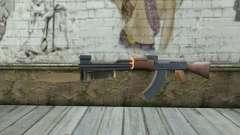 AK47 avec une baïonnette