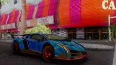 Lamborghini LP750-4 2013 Veneno Blue Star
