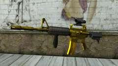 Golden M4 mit Blick