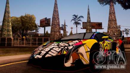 Lamborghini LP750-4 2013 Veneno Stikers Editions pour GTA San Andreas