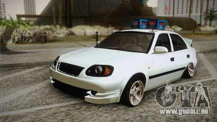 Hyundai Polis TR für GTA San Andreas