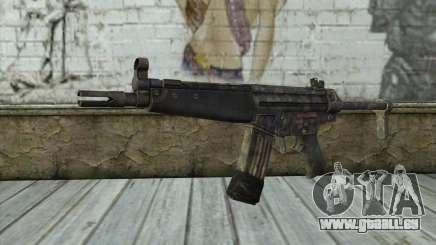 G53 with Woodland Camo BF3 pour GTA San Andreas
