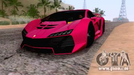 Pegassi Zentorno GTA 5 v2 pour GTA San Andreas