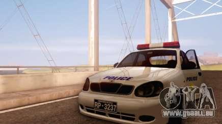 Daewoo Lanos Police für GTA San Andreas