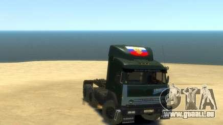 KamAZ Tracteur 4410 pour GTA 4